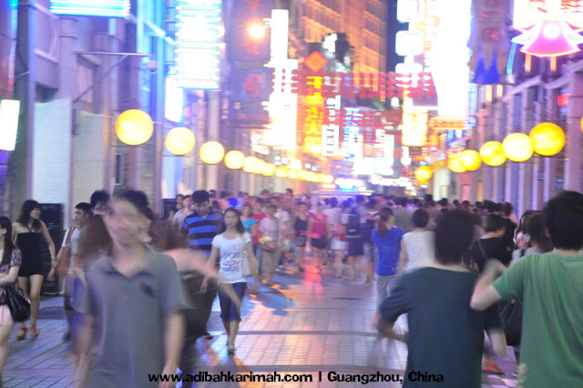 Sneak Preview free holiday to Guangzhou for premium beuatiful top agent from green leaders group at shopping street