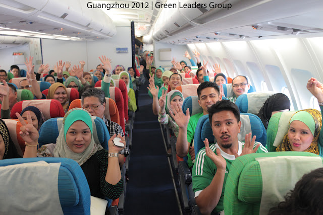 Green Leaders Academy (GLAM) from premium beautiful top agents flying to guangzhou