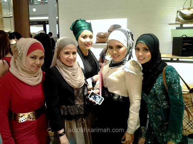 Fendi Baguette 15th Anniversary at KLCC had invited premium beautiful top agents including me
