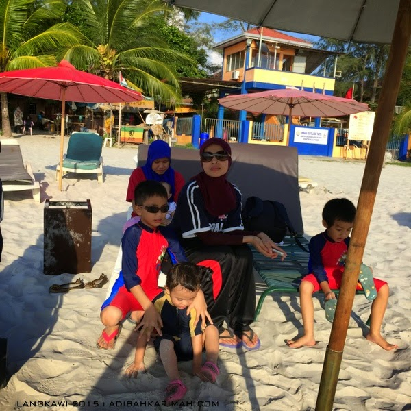 short vacation trip to Langkawi - pantai chenang